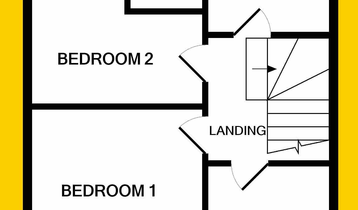 Floorplan - 2nd floor 2 glenfield ave